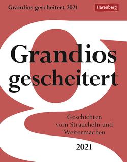 Grandios gescheitert Kalender 2021 von Harenberg