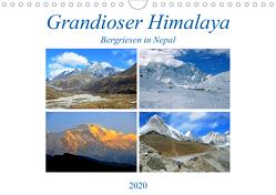 Grandioser Himalaya, Bergriesen in Nepal (Wandkalender 2020 DIN A4 quer) von Senff,  Ulrich