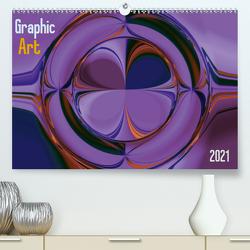 Graphic Art 2021 (Premium, hochwertiger DIN A2 Wandkalender 2021, Kunstdruck in Hochglanz) von Hebgen,  Peter