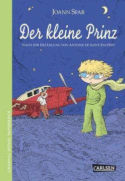 Graphic Novel Paperback: Der kleine Prinz von Saint-Exupéry,  Antoine de, Sfar,  Joann, Wilksen,  Kai