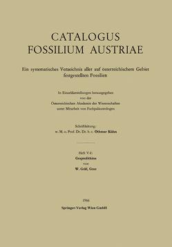 Graptolithina von Gräf,  W.