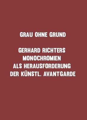 Grau ohne Grund von Friedrich, Julia