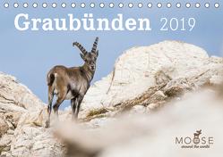Graubünden – 2019 (Tischkalender 2019 DIN A5 quer) von Schöps,  Anke