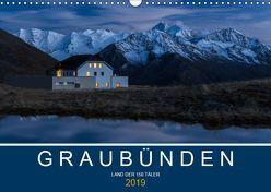 Graubünden – Land der 150 TälerCH-Version (Wandkalender 2019 DIN A3 quer) von Mathis,  Armin