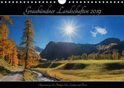 Graubündner Landschaften 2019 (Wandkalender 2019 DIN A4 quer) von SusaZoom