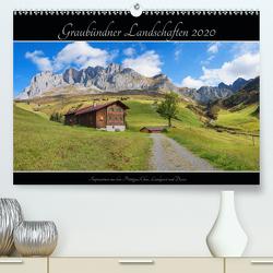 Graubündner Landschaften 2020 (Premium, hochwertiger DIN A2 Wandkalender 2020, Kunstdruck in Hochglanz) von SusaZoom