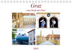 Graz – eine Stadt mit Flair (Tischkalender 2019 DIN A5 quer) von Schwarze,  Nina