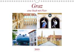 Graz – eine Stadt mit Flair (Wandkalender 2019 DIN A4 quer) von Schwarze,  Nina