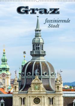 Graz – faszinierende Stadt (Wandkalender 2019 DIN A2 hoch) von Schwarze,  Nina