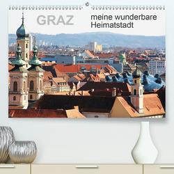 GRAZ, meine wunderbare HeimatstadtAT-Version (Premium, hochwertiger DIN A2 Wandkalender 2021, Kunstdruck in Hochglanz) von Sock,  Reinhard
