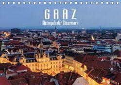 Graz – Metropole der Steiermark (Tischkalender 2018 DIN A5 quer) von LianeM,  k.A.