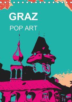 GRAZ POP ART (Tischkalender 2019 DIN A5 hoch) von Sock,  Reinhard