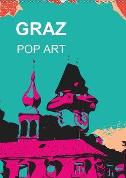 GRAZ POP ART (Wandkalender 2019 DIN A2 hoch) von Sock,  Reinhard