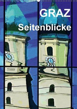 Graz Seitenblicke (Wandkalender 2018 DIN A2 hoch) von Sock,  Reinhard