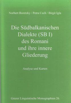 Grazer Linguistische Monographien 26 von Boretzky,  Norbert, Cech,  Petra, Igla,  Birgit