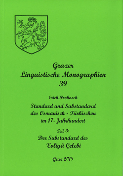 Grazer Linguistische Monographien 39 von Prokosch,  Erich