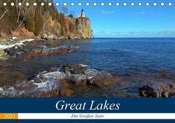 Great Lakes – Die großen Seen (Tischkalender 2021 DIN A5 quer) von gro