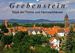 Grebenstein – Stadt der Türme und Fachwerkhäuser (Wandkalender 2019 DIN A2 quer) von Lielischkies,  Klaus