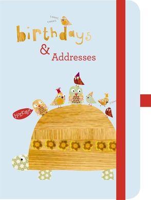 Green Address & Birthday Book CINNAMON AITCH