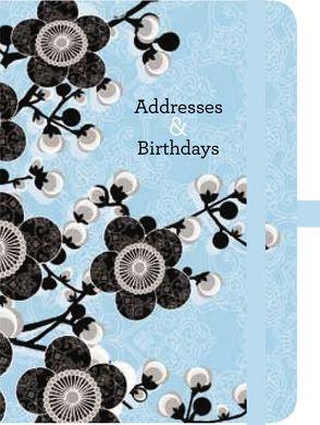 Green Address & Birthday Book Linda Wood