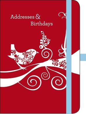 Green Address & Birthday Book VALENTINA RAMOS