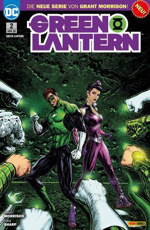 Green Lantern von Heiss,  Christian, Morrison,  Grant, Sharp,  Liam