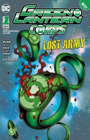 Green Lantern: Lost Army von Bunn,  Cullen, Saiz,  Jesus