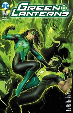 Green Lanterns von Antonio,  Roge, Cliquet,  Ronan, Gillespie,  Aaron, Heiss,  Christian, Marion,  V. Ken, Seeley,  Tim