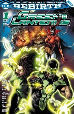 Green Lanterns von Benes,  Ed, Heiss,  Christian, Humphries,  Sam, Johns,  Geoff, Rocha,  Robson, van Sciver,  Ethan