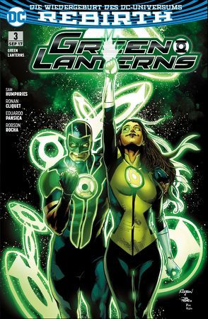 Green Lanterns von Cliquet,  Ronan, Heiss,  Christian, Humphries,  Sam, Rocha,  Robson