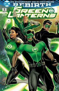 Green Lanterns von Heiss,  Christian, Humphries,  Sam, Pansica,  Eduardo, Rocha,  Robson
