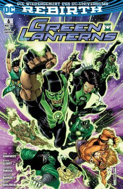 Green Lanterns von Cliquet,  Ronan, Humphries,  Sam, Pansica,  Eduardo