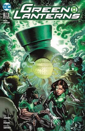 Green Lanterns von Heiß,  Chrisian, Jurgens,  Dan, Perkins,  Mike, Santucci,  Marco