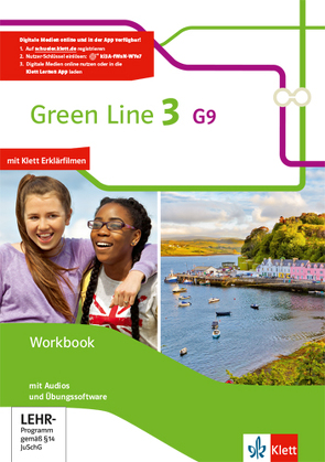 Green Line / Workbook mit Audio-CD und Übungssoftware 7. Klasse G9