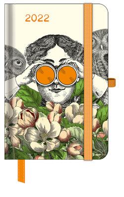 GreenLine Diary Fabulous World of PABUKU 2022 – Buchkalender – Taschenkalender – 10×15