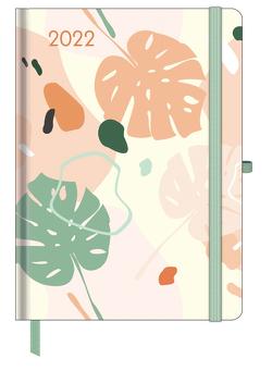 GreenLine Diary Happy Vibes 2022 – Buchkalender – Taschenkalender – 16×22