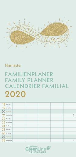 GreenLine Namaste 2020 Familienplaner