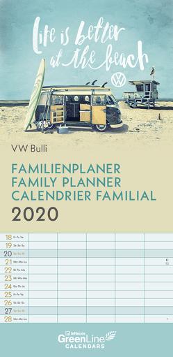 GreenLine VW Bulli 2020 Familienplaner