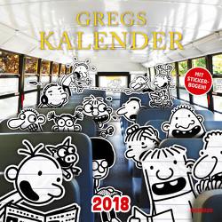 Gregs Kalender 2018 von Kinney,  Jeff