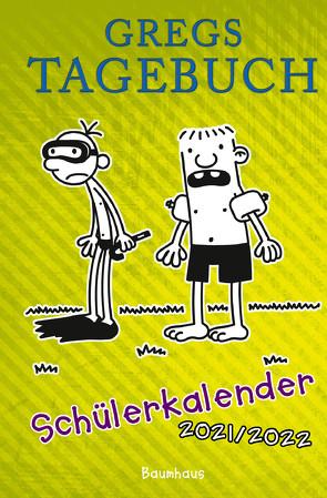 Gregs Tagebuch – Schülerkalender 2021/2022 von Kinney,  Jeff