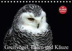 Greifvögel, Eulen und Käuze (Tischkalender 2018 DIN A5 quer) von Klatt,  Arno