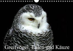 Greifvögel, Eulen und Käuze (Wandkalender 2019 DIN A4 quer) von Klatt,  Arno