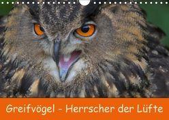Greifvögel – Herrscher der Lüfte (Wandkalender 2019 DIN A4 quer) von Wejat-Zaretzke,  Gabriela