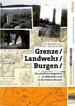 Grenze, Landwehr, Burgen von Cichy,  Eva, Vomhof,  Martin, Wagener,  Olaf