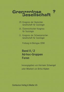Grenzenlose Gesellschaft von Schwengel,  Hermann