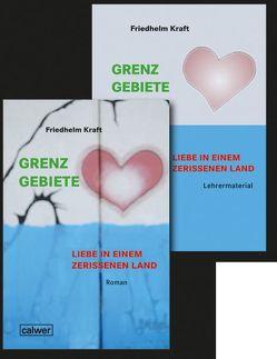 Kombi-Paket: Grenzgebiete – Liebe in einem zerrissenem Land von Kraft,  Friedhelm