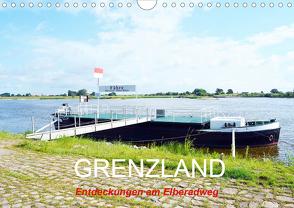 GRENZLAND – Entdeckungen am Elberadweg (Wandkalender 2021 DIN A4 quer) von Gerstner,  Wolfgang