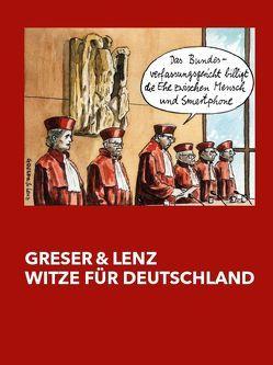 Greser & Lenz – Witze für Deutschland von Hils,  Claudio, Platthaus,  Andreas