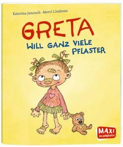Greta will ganz viele Pflaster von Drewes,  Svenja, Janouch,  Katerina, Lindman,  Mervi