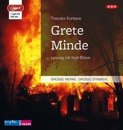 Grete Minde von Böwe,  Kurt, Fontane,  Theodor
